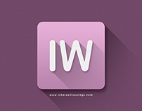 Interactive Wings Flat Icon
