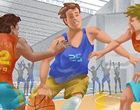 Ilustração - Esportes