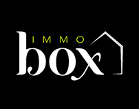 Huisstijl + website Immo Box