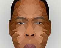 Jay Z 3D Model