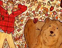 Fall Theme Illustration
