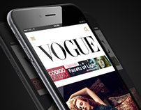 Vogue Mexico - Mobile version