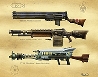 Fallout Weapon Designs