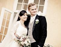 Lykkesholm Slot bryllup på Fyn