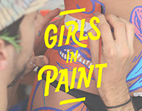 Girls in Paint