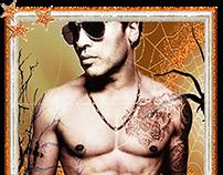 Lenny Kravitz-Halloween Art