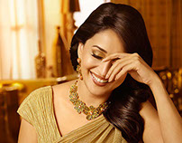 PNG Jewelers Campaign - Madhuri Dixit Nene