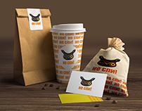 """Don't sleep"" cafe corporate identity"