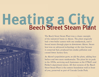 Beech Street // Interpretive Panel