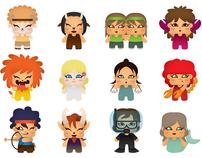 Zodiac Horoscope Characters