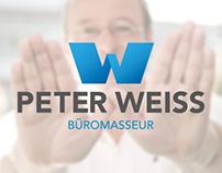 Corporate-Design of Peter Weiss - Office masseur