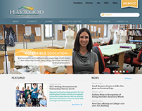 Haywood Community College Responsive Website Redesign