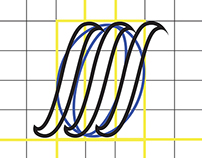 forged font, unfinished
