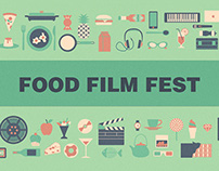 Poster for Food Film Fest