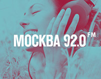 Moscow 92.0 fm | Logo | Branding