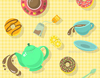 Coffee Break and Tea Party Patterns