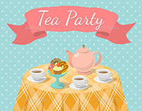 Tea Party Illustrations