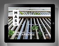 MAS Arquitectura . Especial Casas . iPad app
