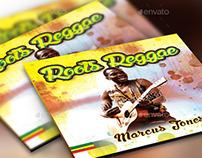 Roots Reggae CD Artwork Photoshop Template