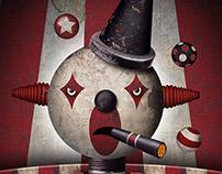 Juggling Clown Animated Gif