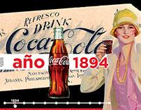 120 años Coca-Cola // 120 years Coca-Cola