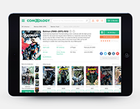 ComiXology • Website redesign