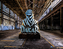 Dakar logo CGI