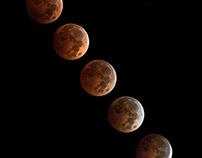 2014 Lunar Eclipse -Fitchburg, WI