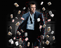 James Bond - poster, dvd cover