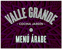 Valle Grande - Cocina Jardín: Menú Árabe