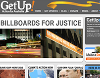 GetUp Website Design