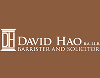 David Hao Law Office Logo Design