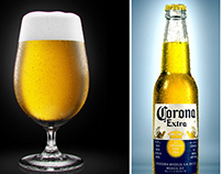 Corona beer 3d