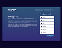KAHA IT Helpdesk