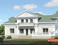 """""""Djursholmsliv"""", 510 sqm mansion. www.attefalls.se"""