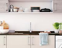 CG lifestyle kitchen photography