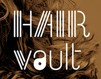 Logo design for hair vault
