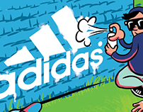 adidas fútbol y running