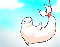 Beluga is in the air