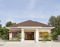 10 mẫu thiết kế nhà cấp 4 nông thôn đẹp xu hướng 2020
