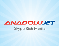 Anadolujet Skype Rich Media