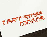 Rectangle font