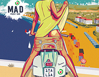 Mad Pizza Summer Poster