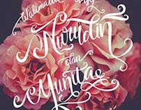 Wedding Lettering : Nurudin - Yunita