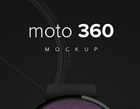 moto360 | Free Mockup