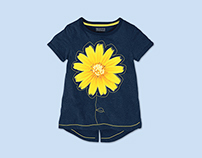 Spring Summer Graphics for NEXT younger girls