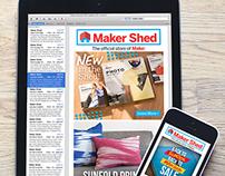 Maker Shed eCommerce Redesign