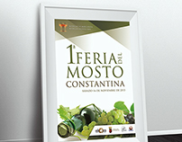 2013 Fair Poster Must / Cartel Feria del Mosto 2013