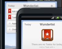 Wunderlist Android Widget