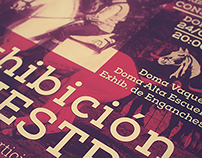Equestrian Exhibition Poster 2014 / Exhibición Ecuestre